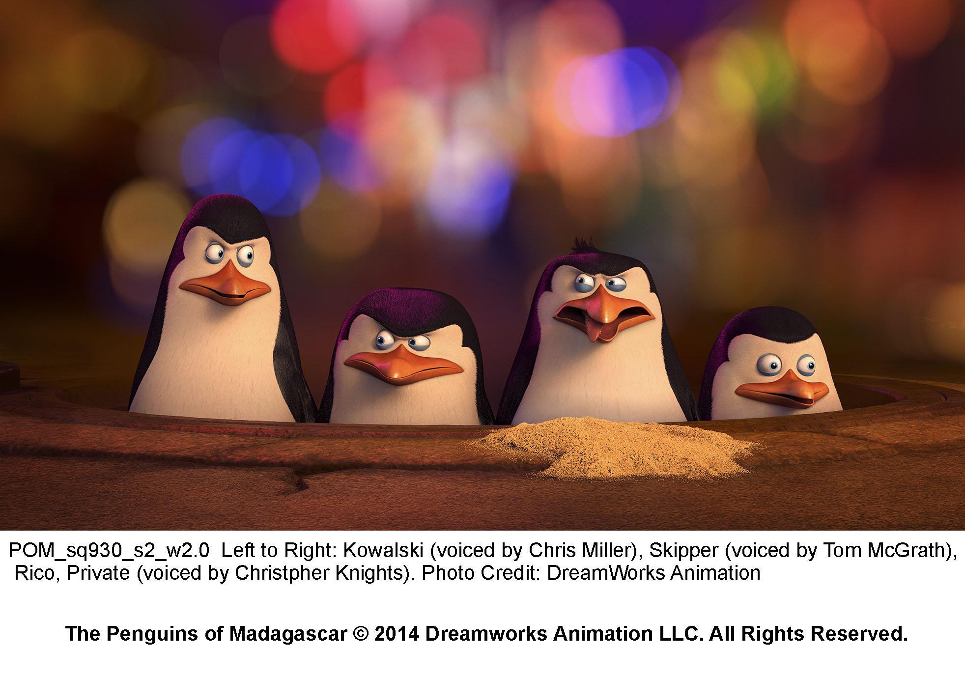 кадры из фильма Пингвины Мадагаскара
