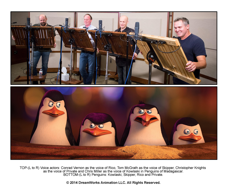 промо-слайды Пингвины Мадагаскара