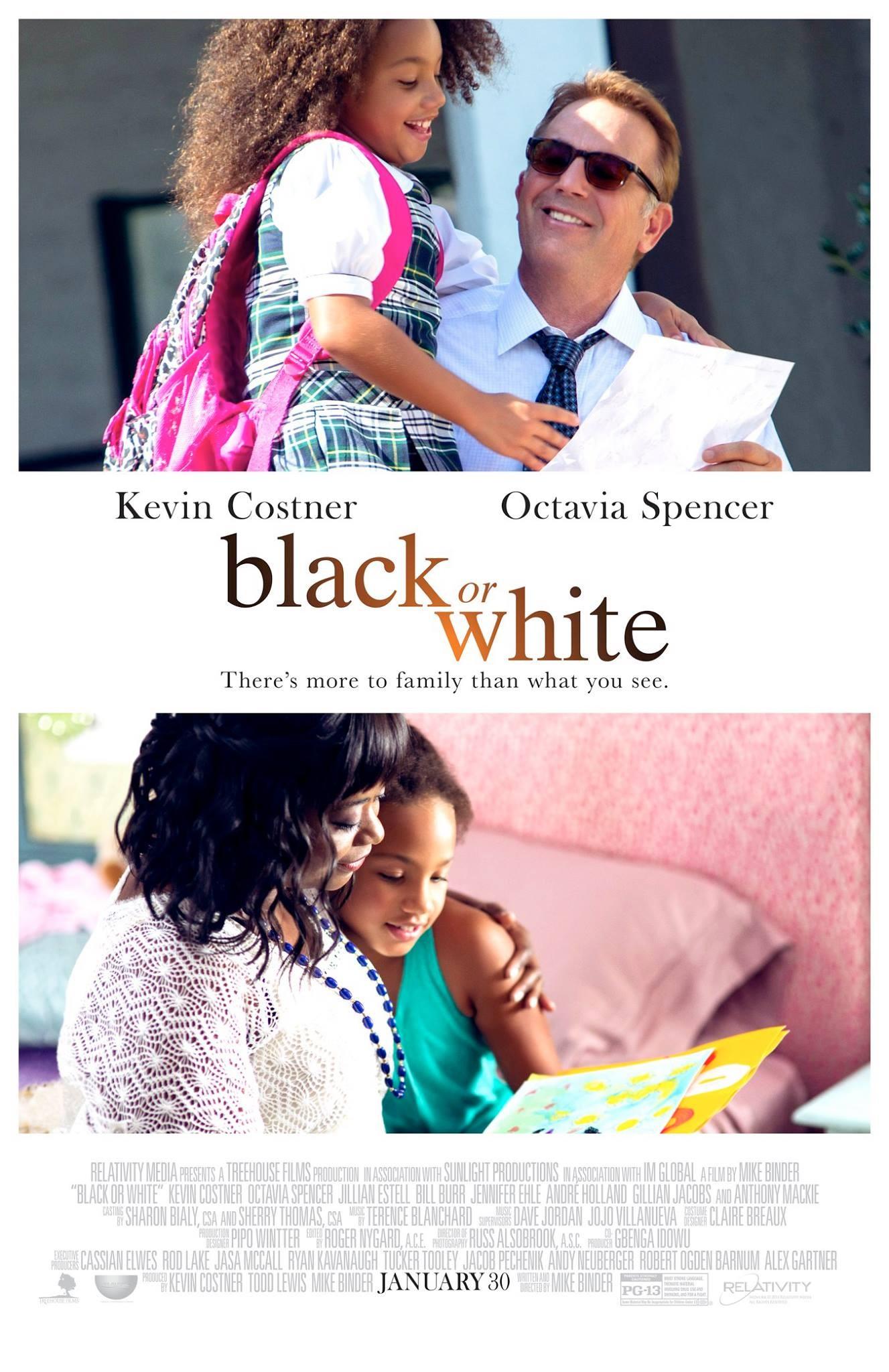 плакат фильма постер Черные и белые*