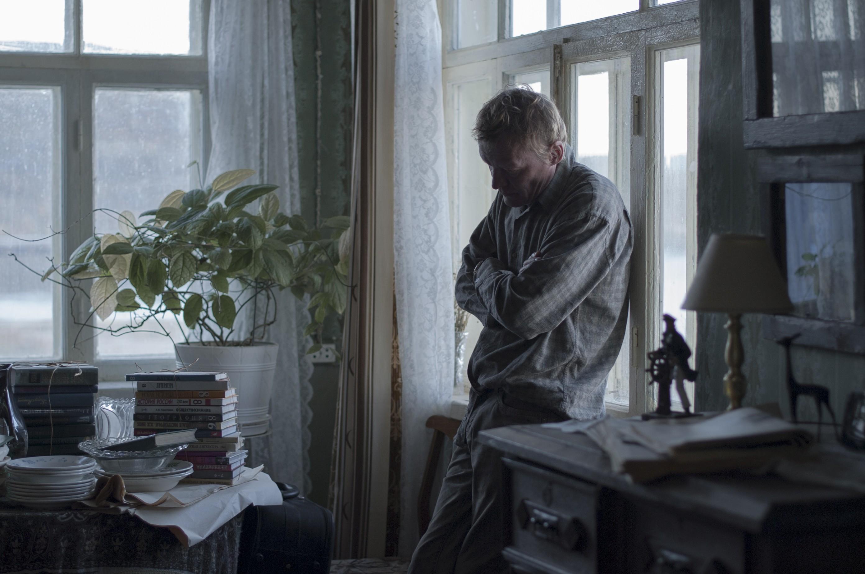 кадры из фильма Левиафан Алексей Серебряков,