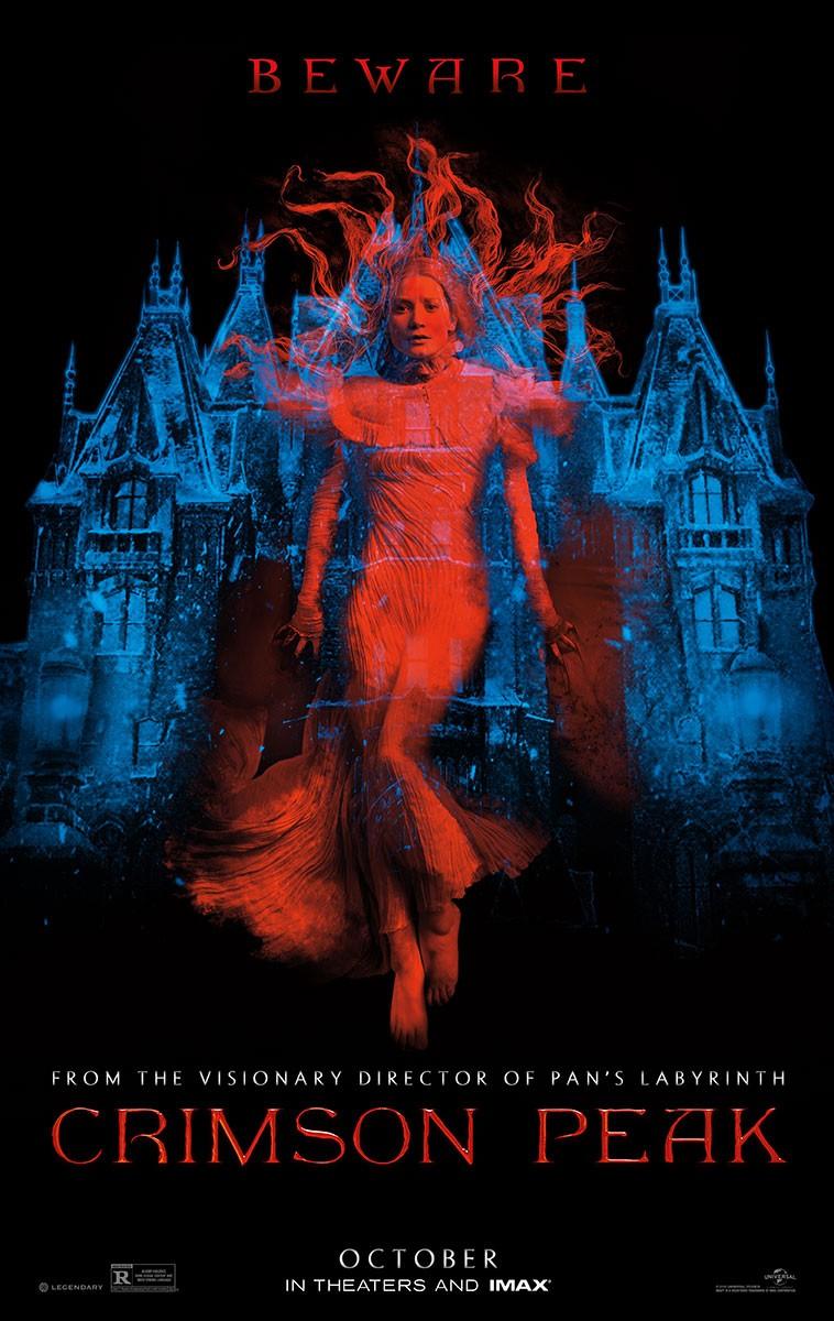 плакат фильма постер Багровый пик