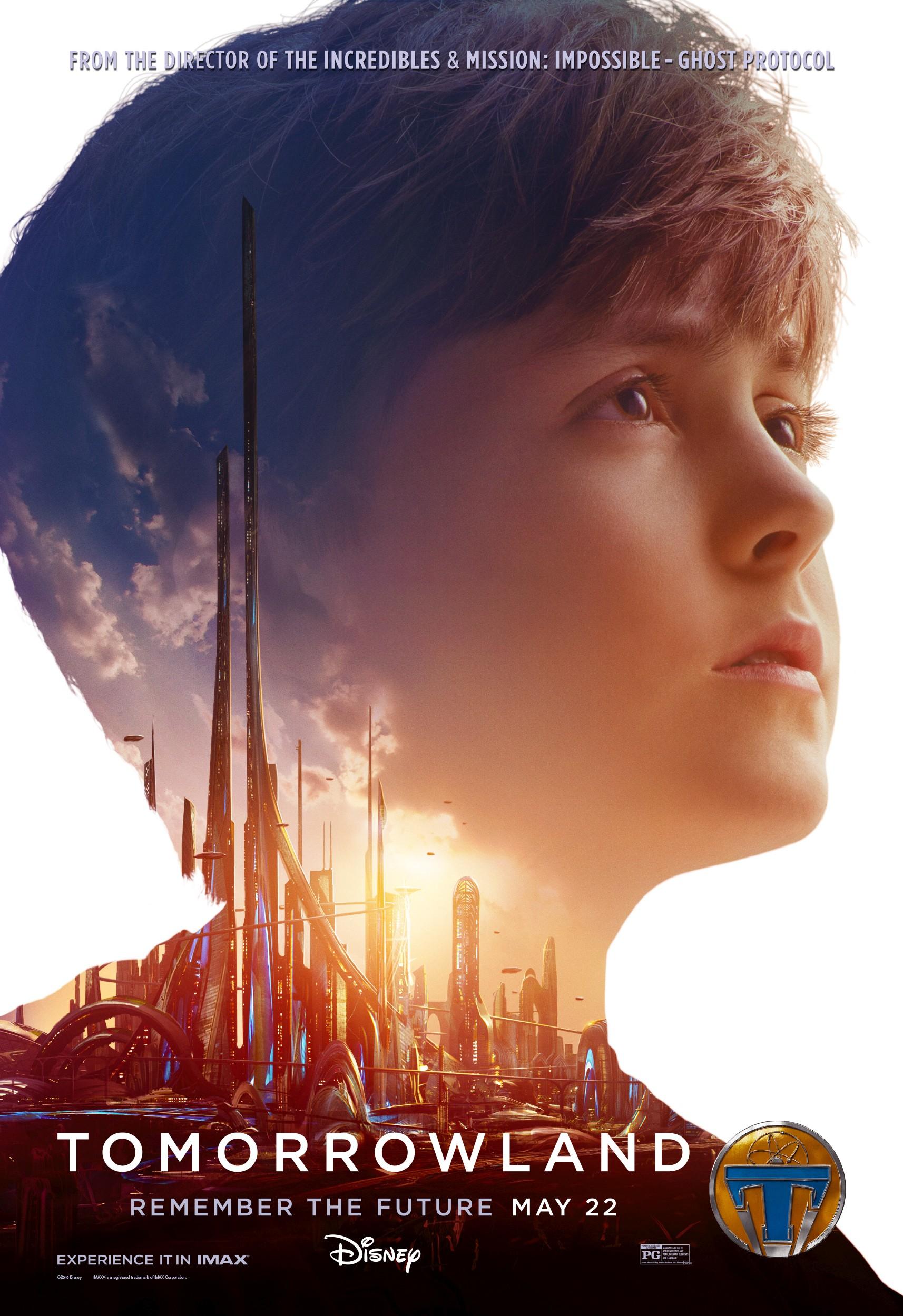 плакат фильма характер-постер Земля будущего