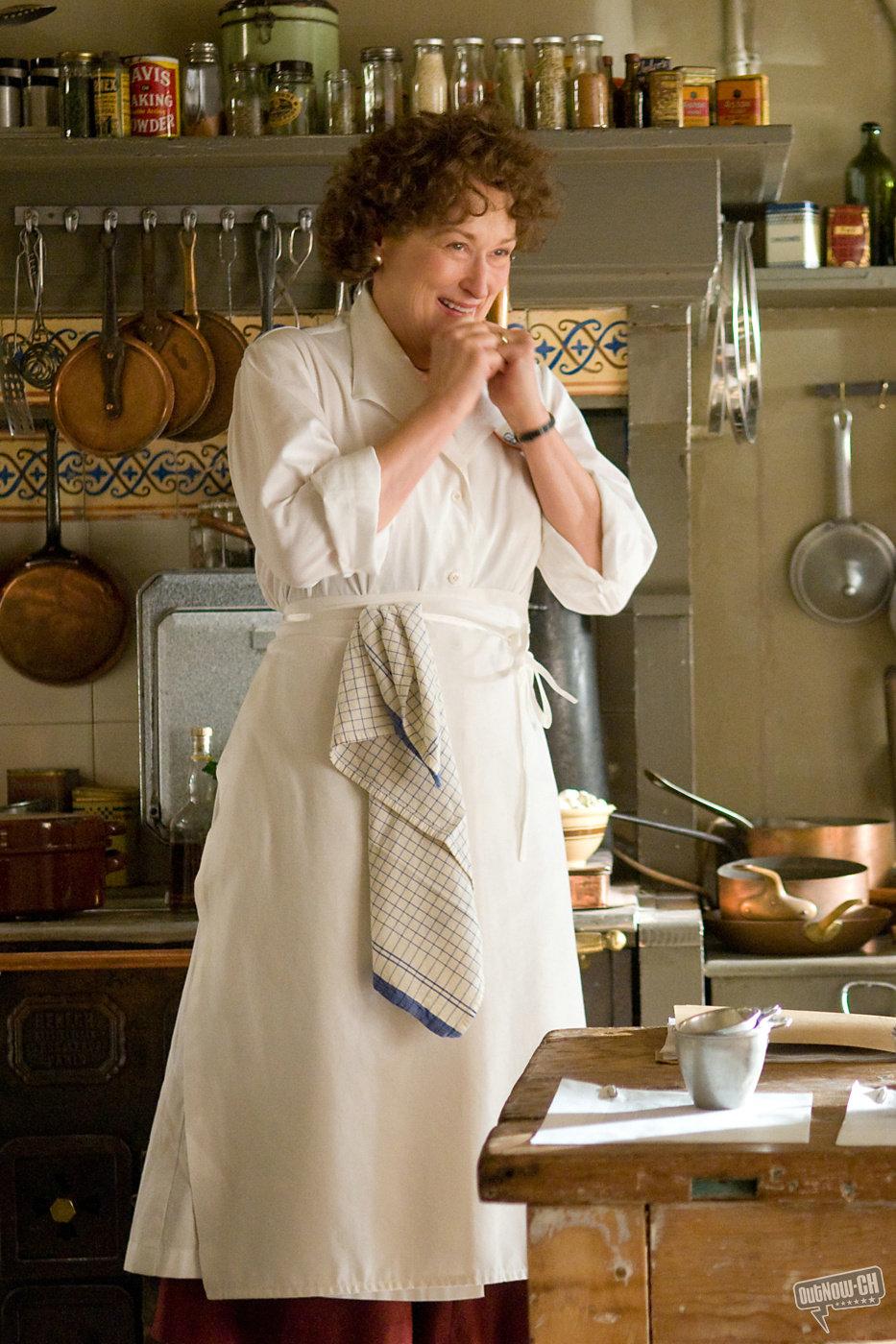 кадры из фильма Джули и Джулия: готовим счастье по рецепту Мерил Стрип,
