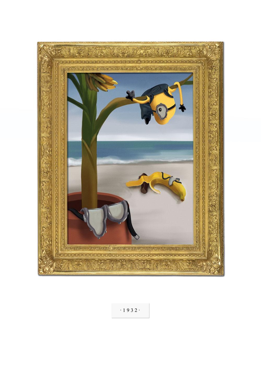 плакат фильма арт-постеры Миньоны