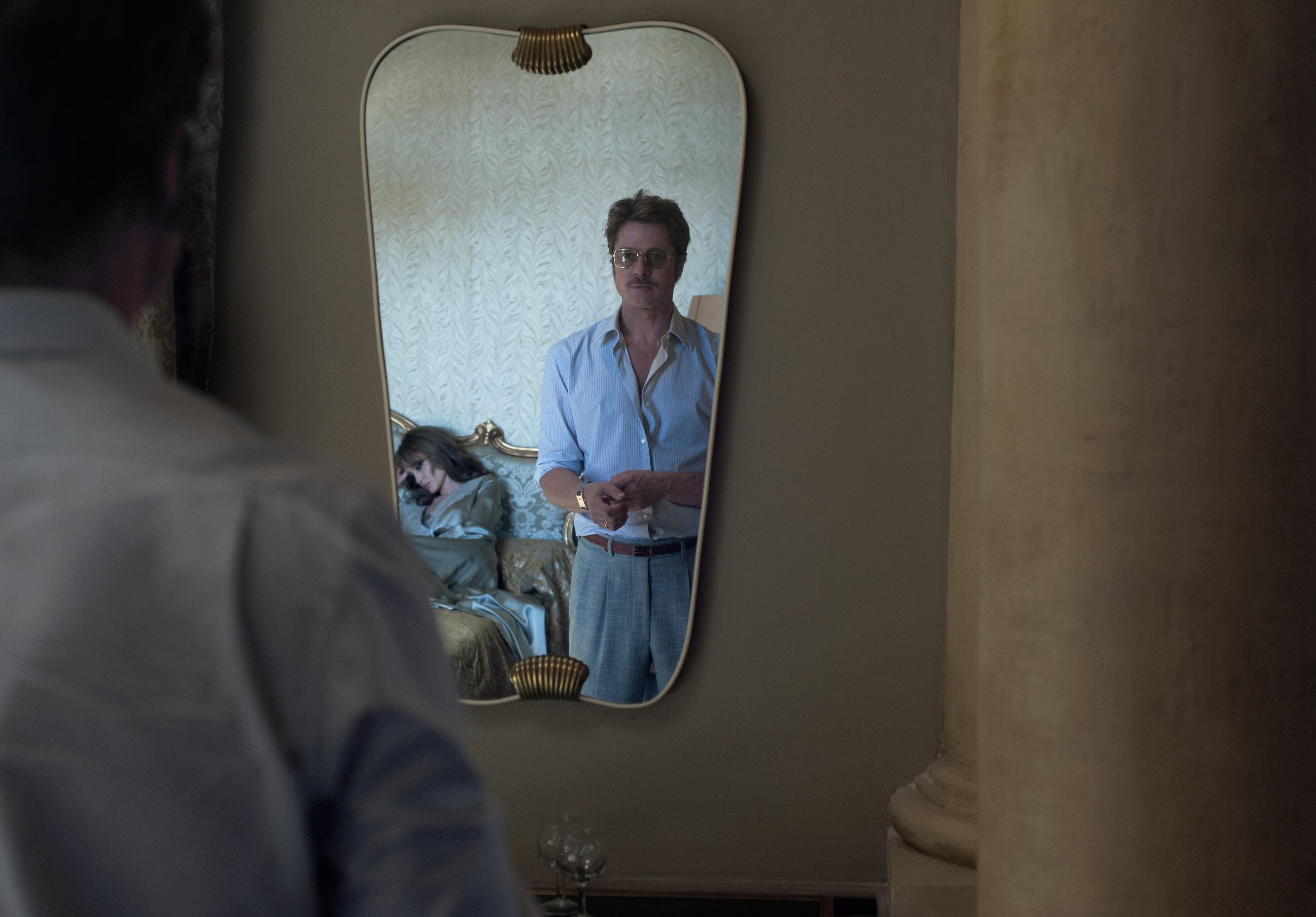 кадры из фильма Лазурный берег Анджелина Джоли, Брэд Питт,