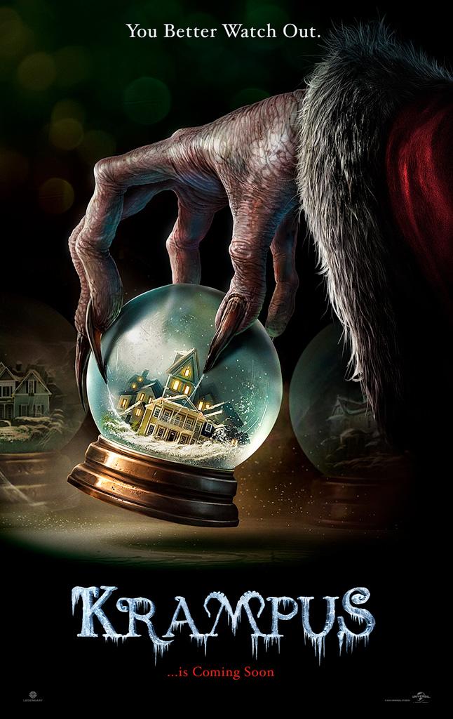 плакат фильма постер Крампус