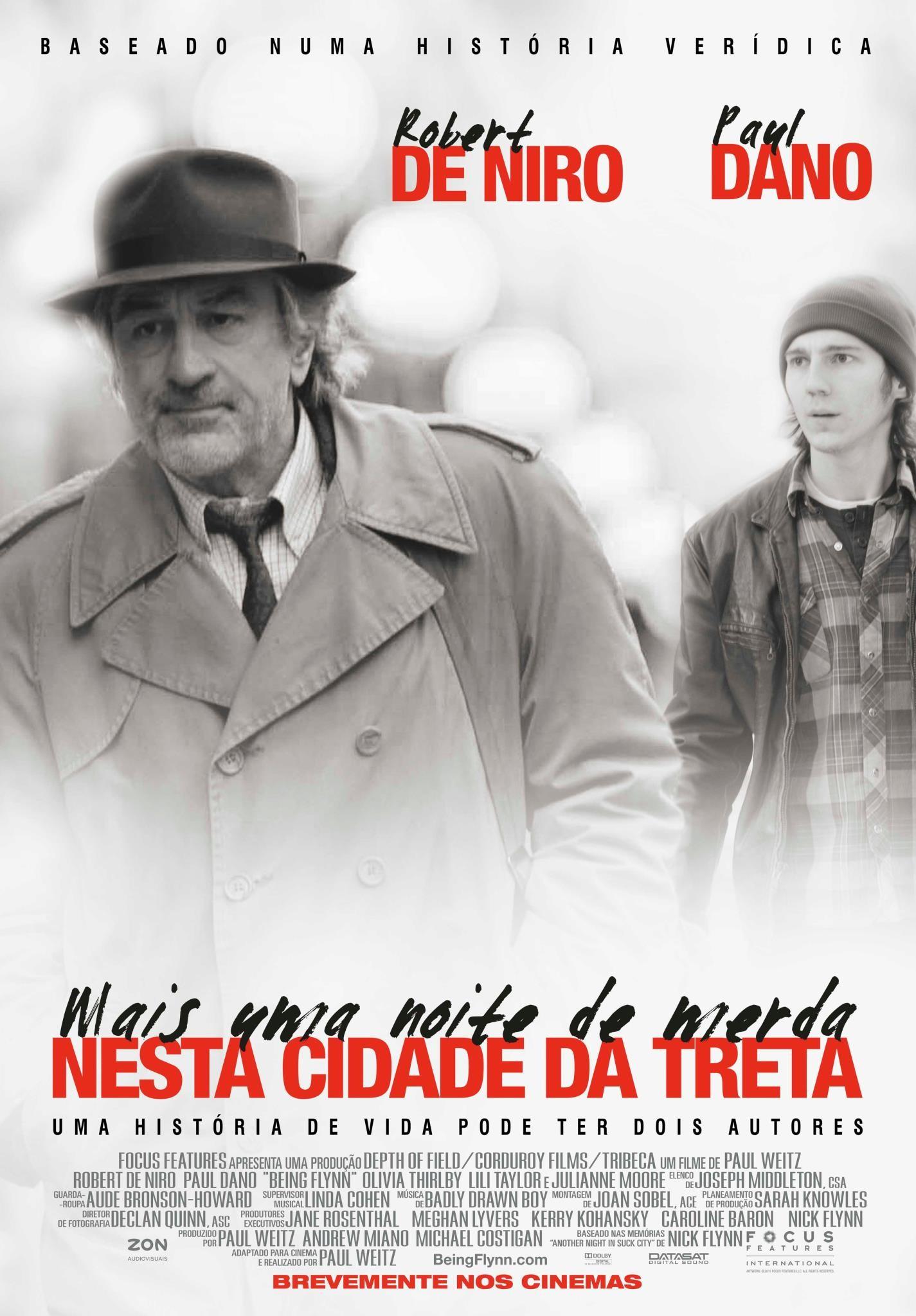 плакат фильма постер Быть Флинном