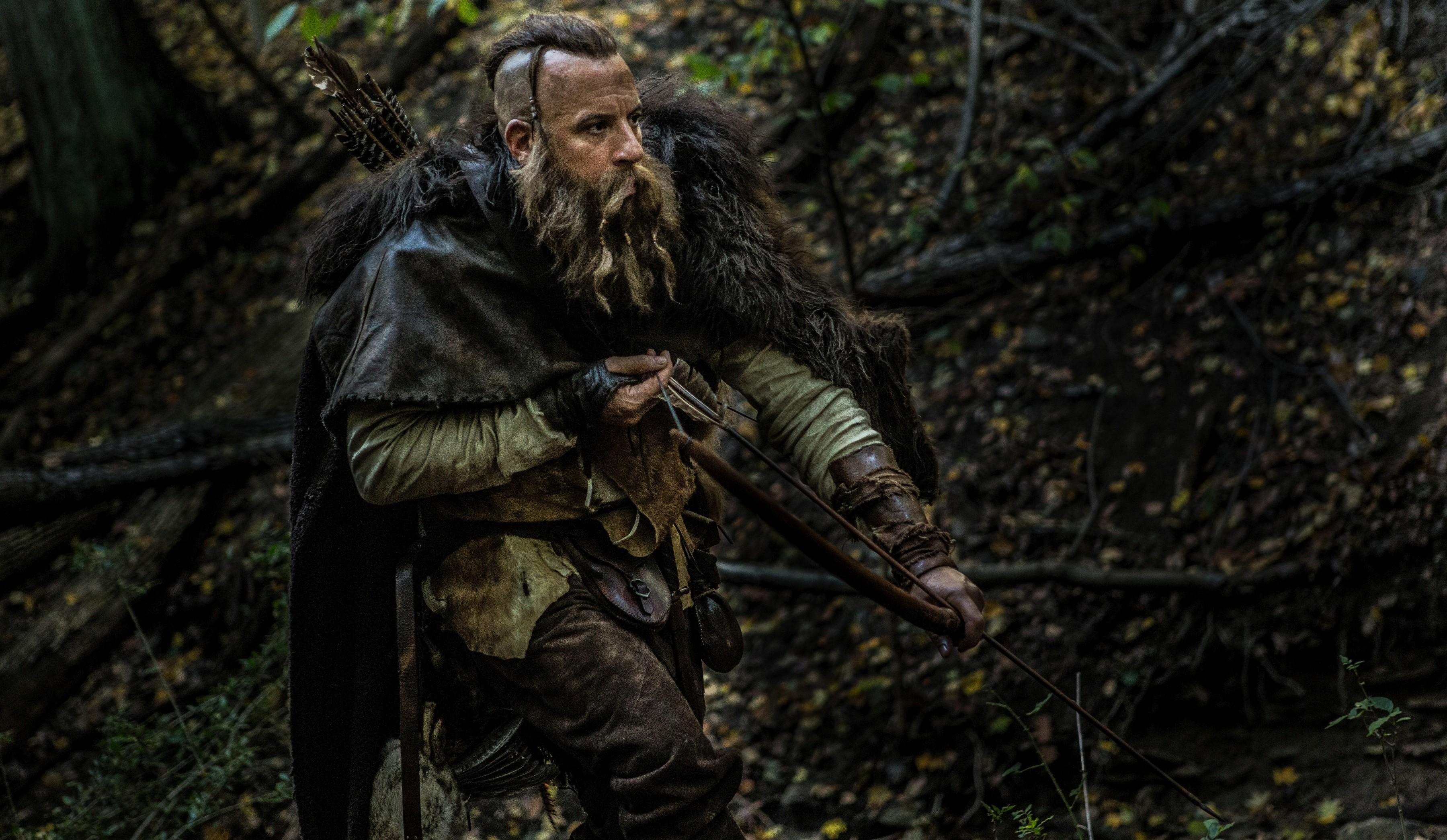 кадры из фильма Последний охотник на ведьм Вин Дизель,