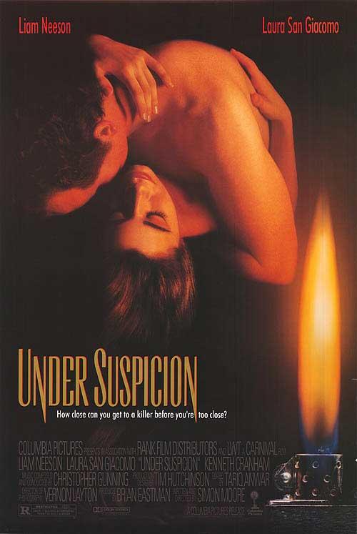 плакат фильма постер Под подозрением