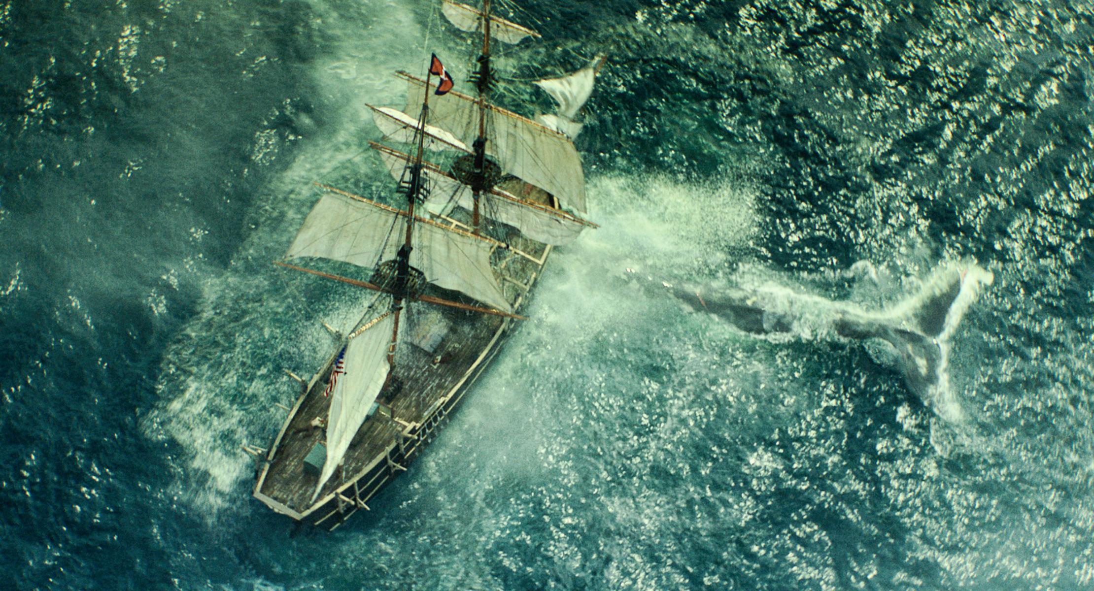 кадры из фильма В сердце моря
