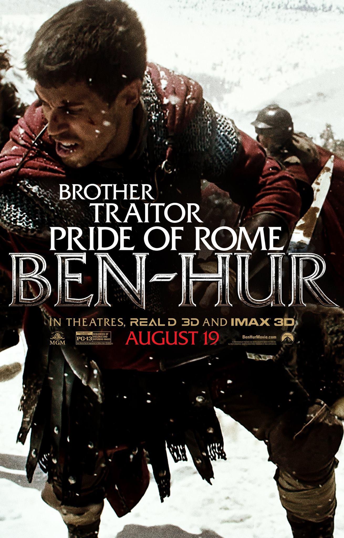 плакат фильма характер-постер Бен-Гур