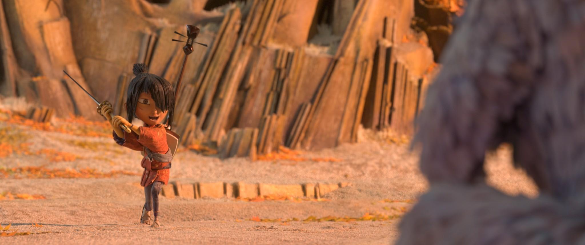 кадры из фильма Кубо. Легенда о самурае