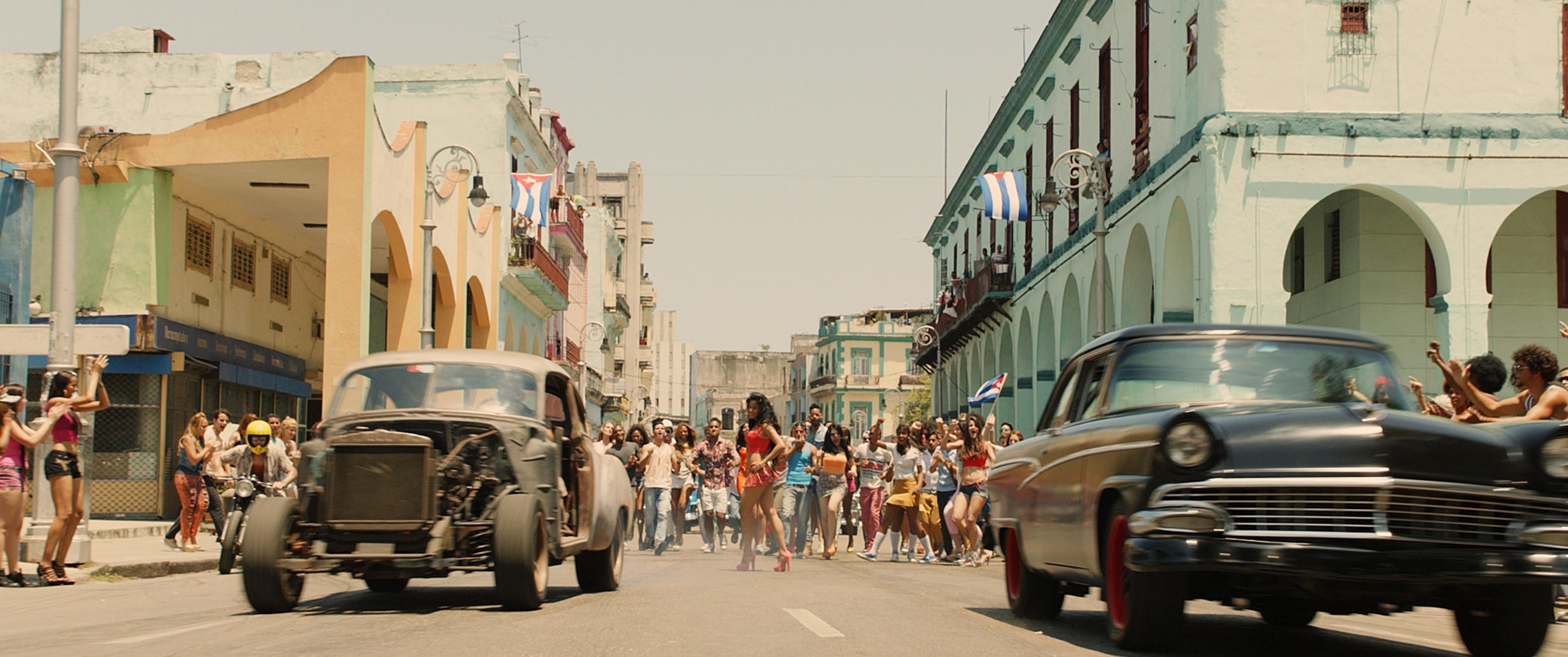 форсаж 8 кубинский гонщик тем другим