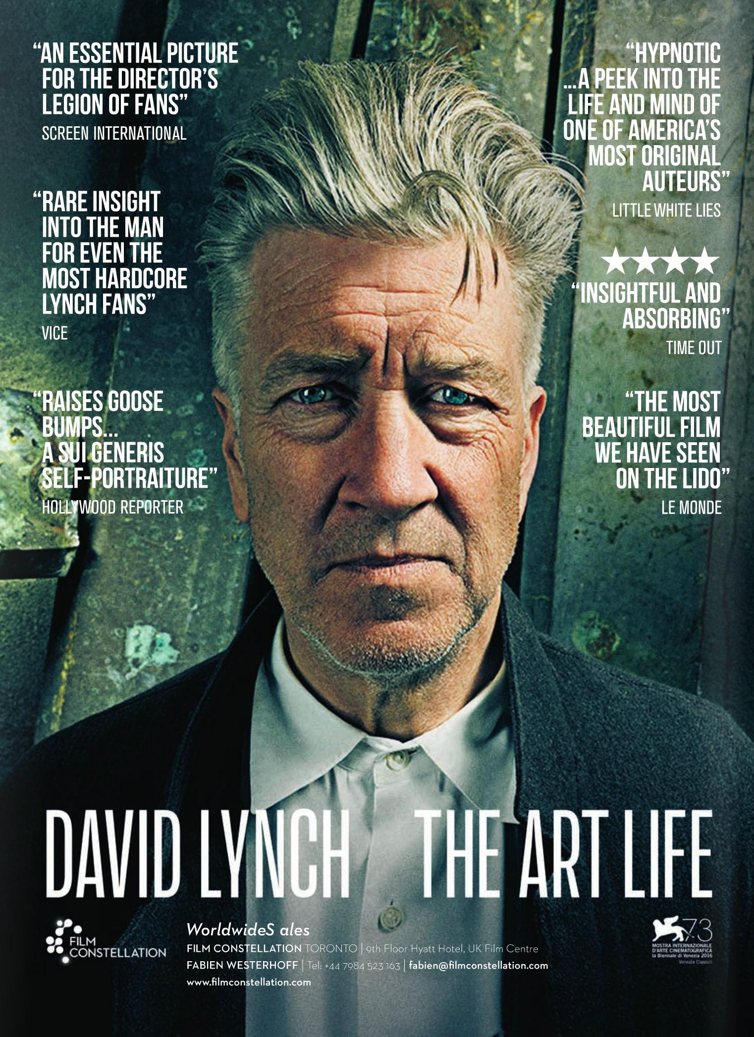 плакат фильма постер Дэвид Линч: Жизнь в искусстве