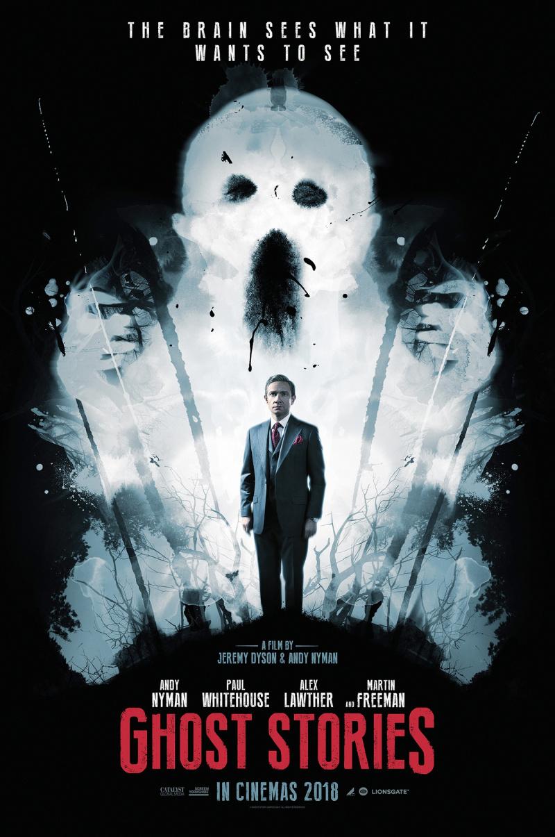 плакат фильма характер-постер Истории призраков