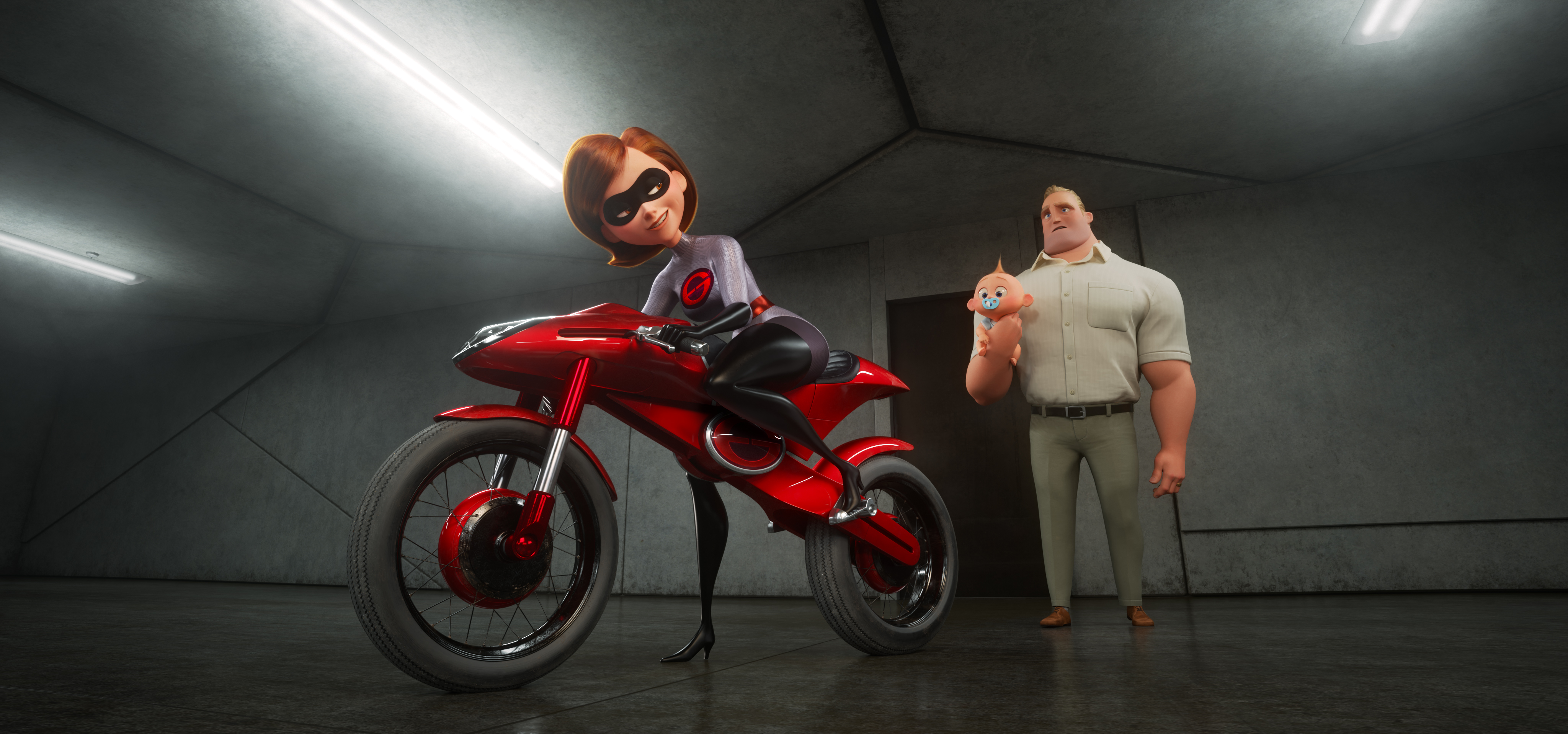 кадры из фильма Суперсемейка 2