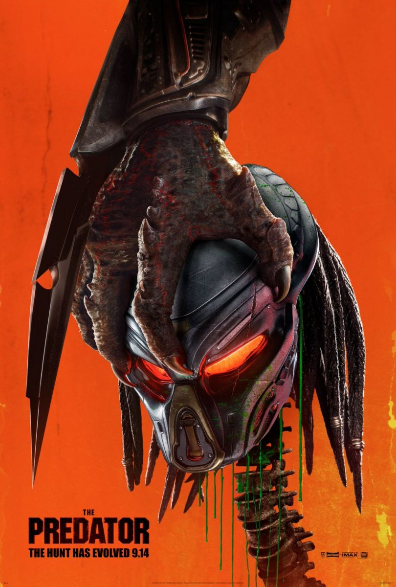 плакат фильма постер Хищник