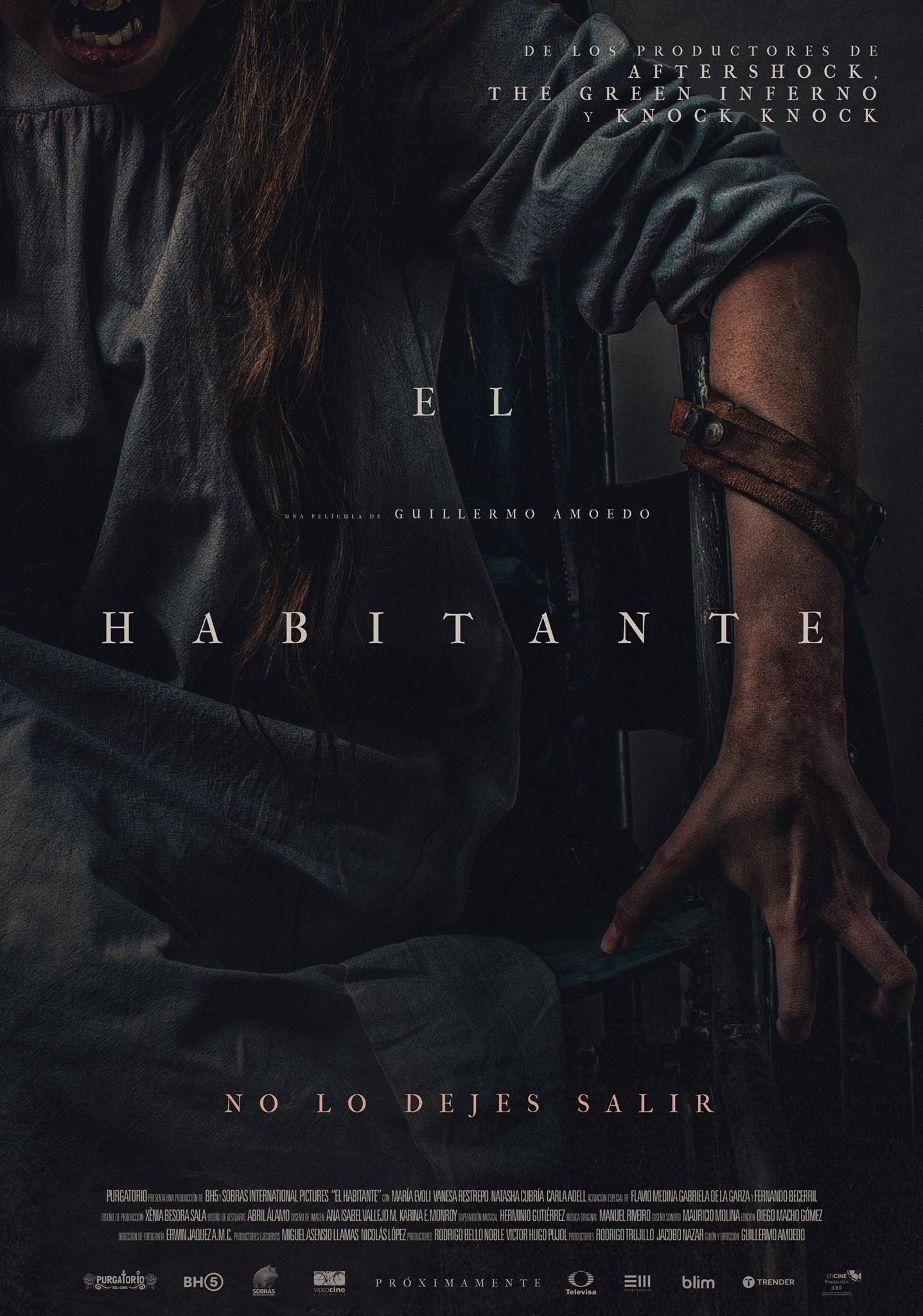 плакат фильма постер Убежище дьявола
