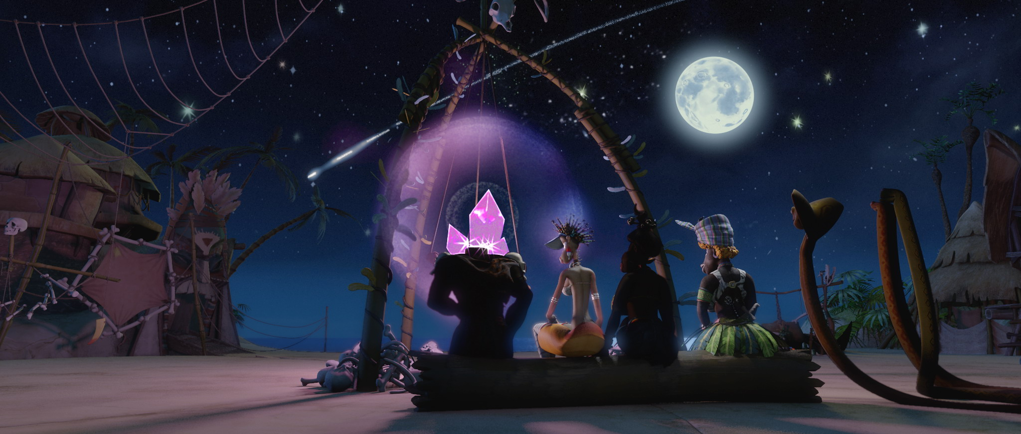 кадры из фильма Новые приключения Аленушки и Еремы