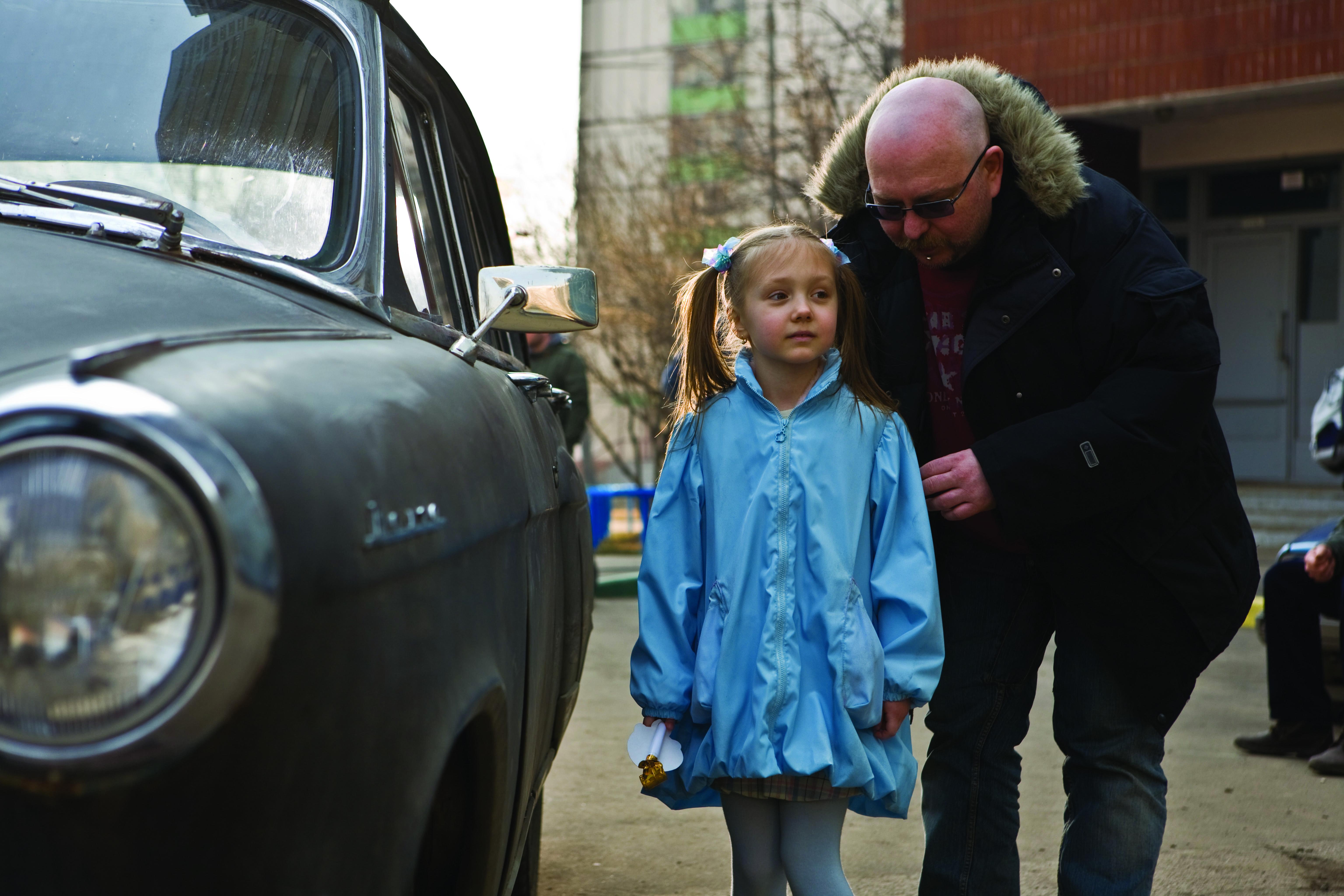со съемок Черная молния Екатерина Старшова, Александр Войтинский,