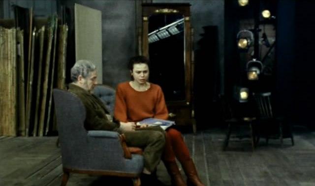 кадры из фильма После репетиции
