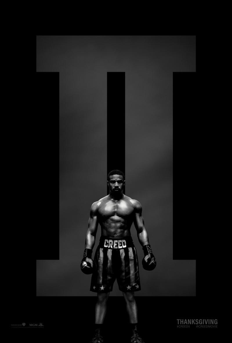 плакат фильма постер Крид 2