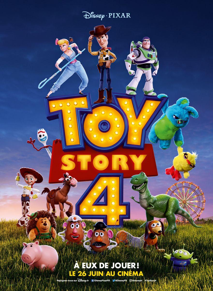 плакат фильма постер История игрушек 4