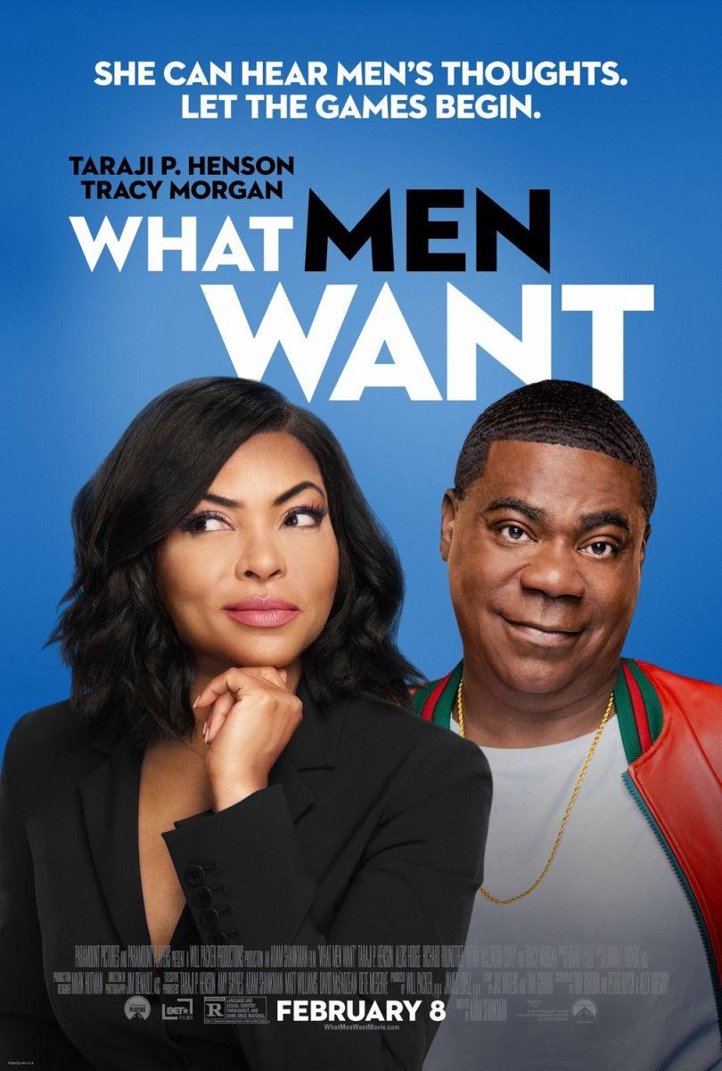 плакат фильма постер Чего хотят мужчины