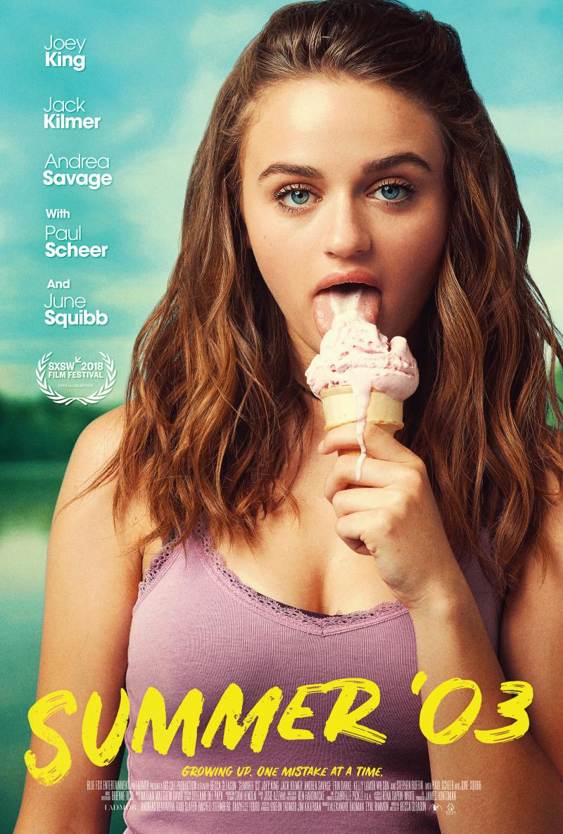 плакат фильма постер Этим летом