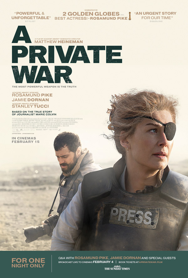 плакат фильма постер Частная война