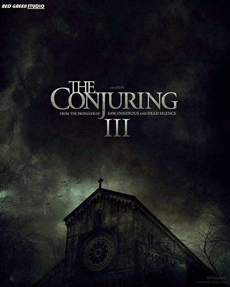 плакат фильма постер Заклятие 3: По воле дьявола