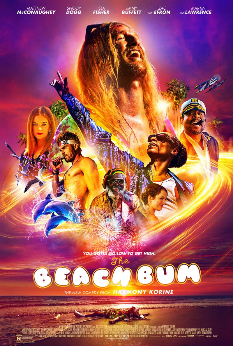 плакат фильма постер Пляжный бездельник