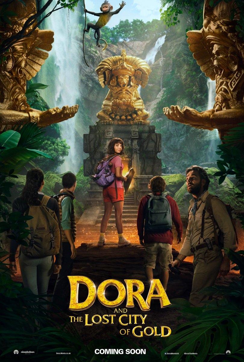 плакат фильма постер Дора и Затерянный город