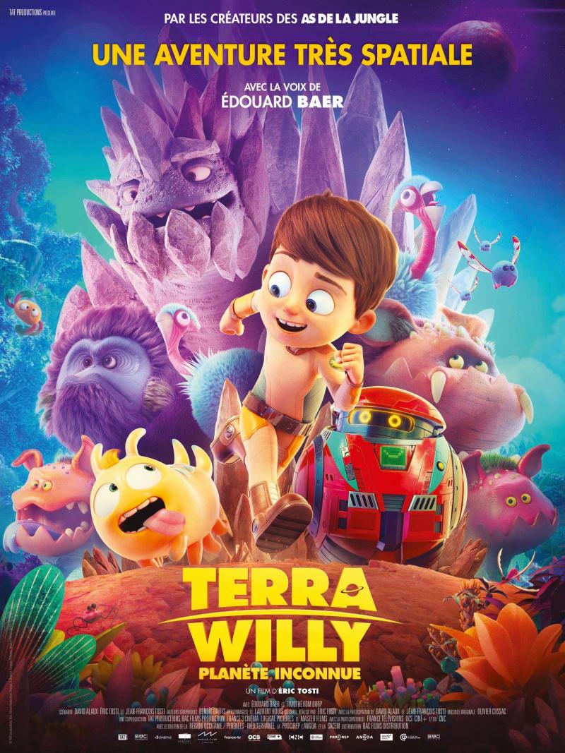 плакат фильма постер Тайна дикой планеты