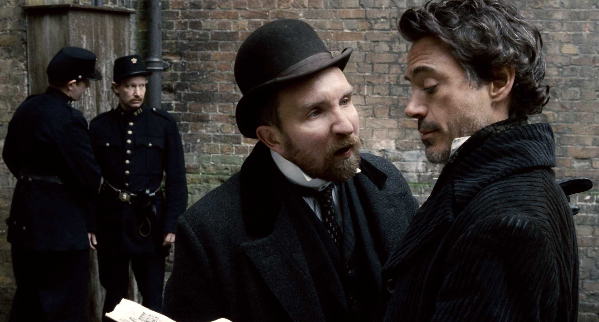 кадры из фильма Шерлок Холмс Эдди Мэрсен, Роберт Дауни-мл.,