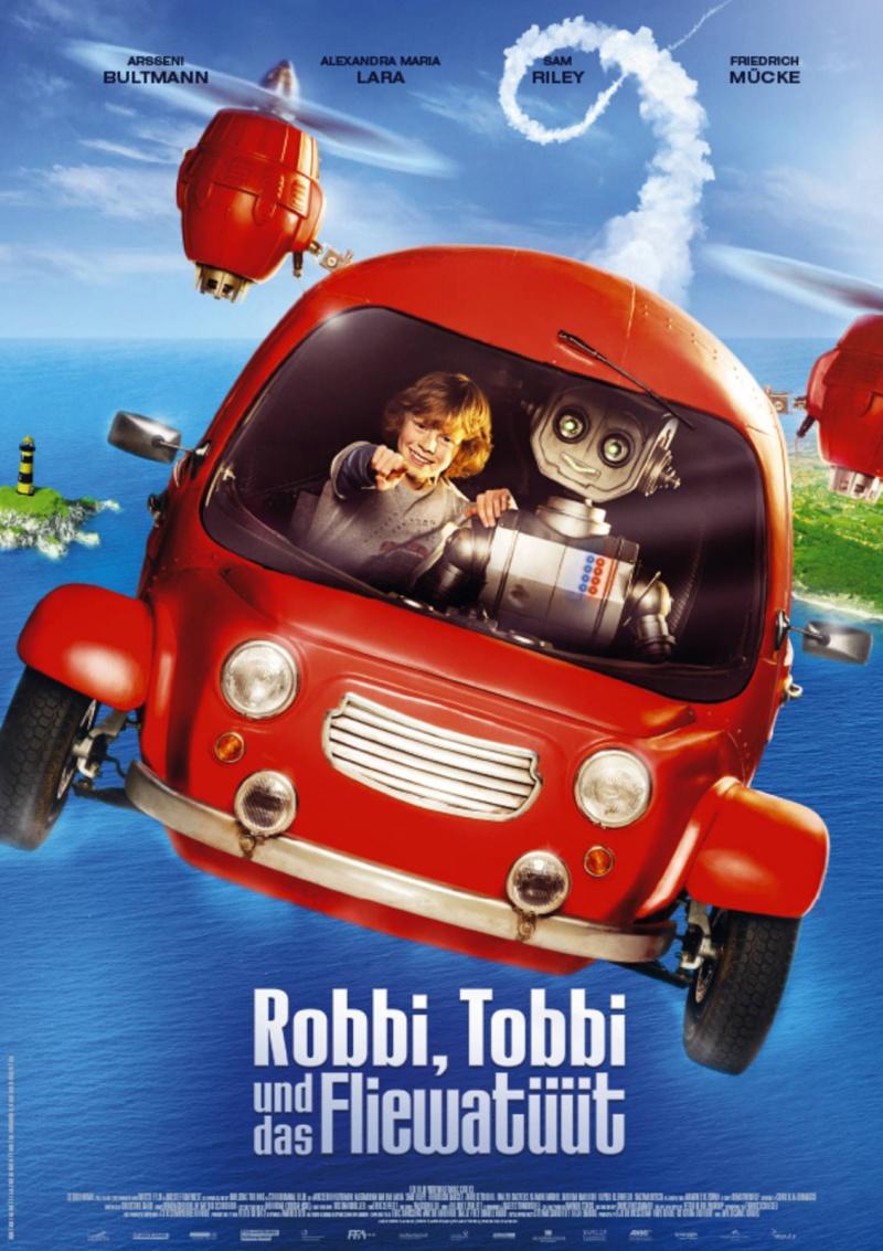 плакат фильма постер Мой друг Робот