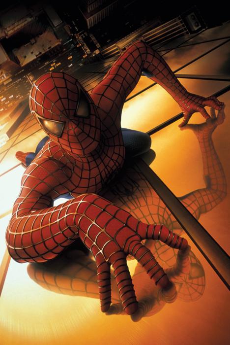 промо-слайды Человек-паук Тоби Магуайр,