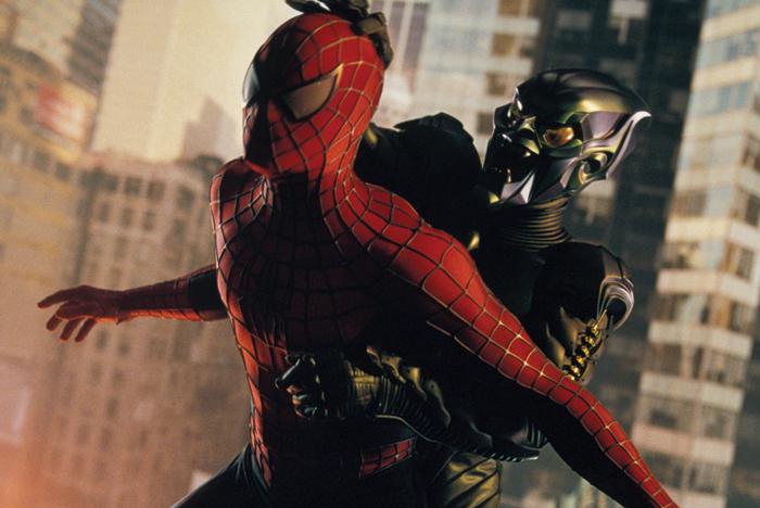 кадры из фильма Человек-паук Тоби Магуайр, Уиллем Дэфо,