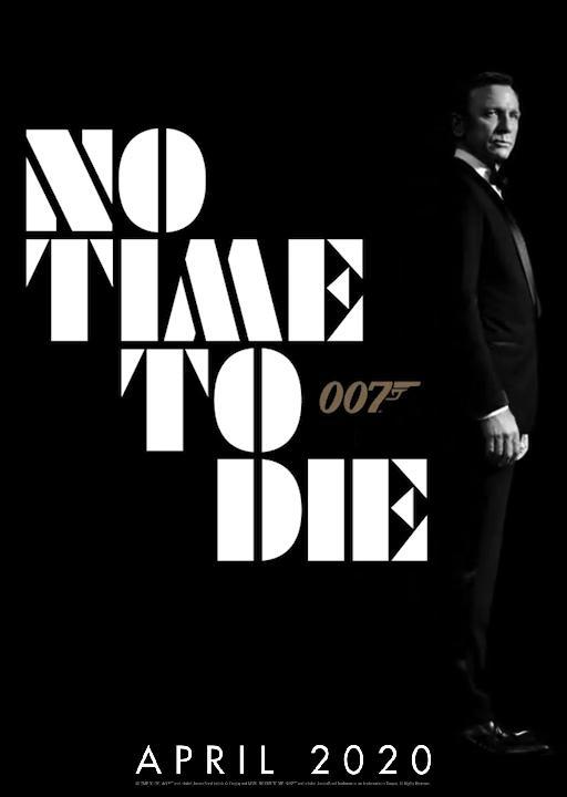 плакат фильма постер Не время умирать
