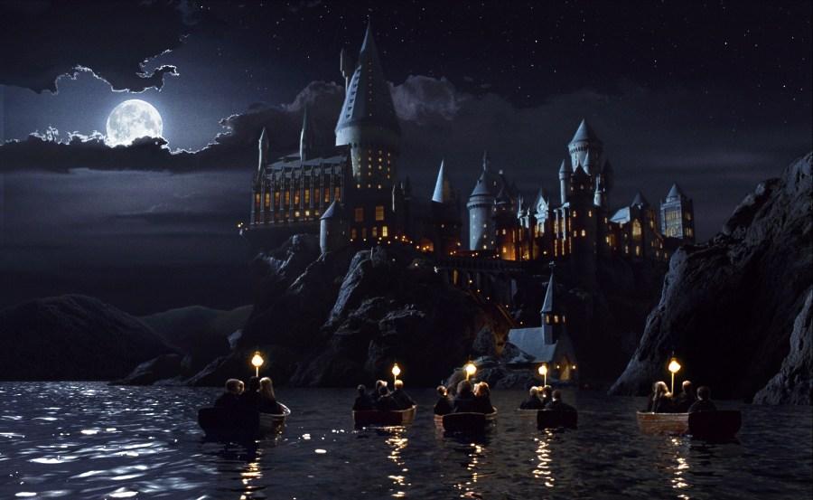 кадры из фильма Гарри Поттер и Философский камень