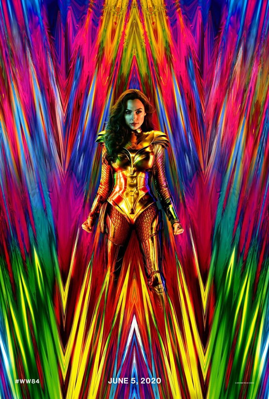 плакат фильма постер Чудо-Женщина: 1984