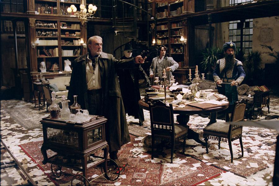 кадры из фильма Лига выдающихся джентльменов Насередин Шах, Стюарт Таунсенд, Шон Коннери,