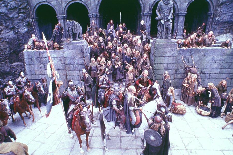 кадры из фильма Властелин Колец: Две крепости