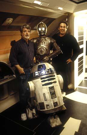 со съемок Звездные войны: Эпизод II — Атака клонов