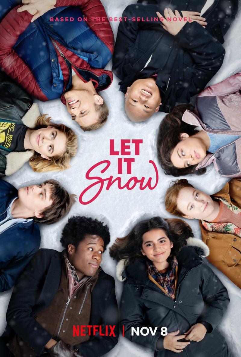 плакат фильма постер Пусть идет снег