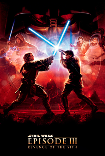 плакат фильма Звездные войны: Эпизод III — Месть ситхов
