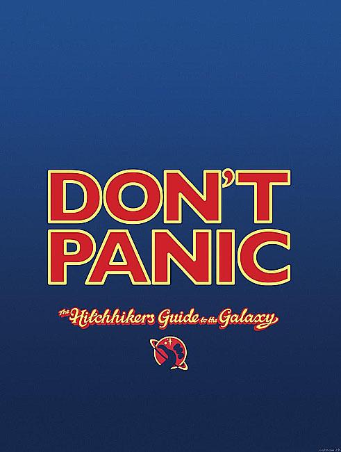 плакат фильма Автостопом по Галактике