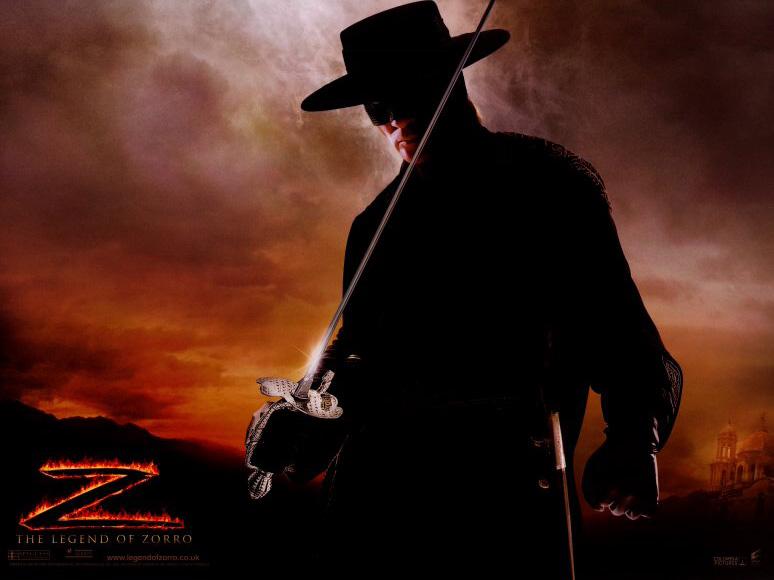 плакат фильма Легенда Зорро