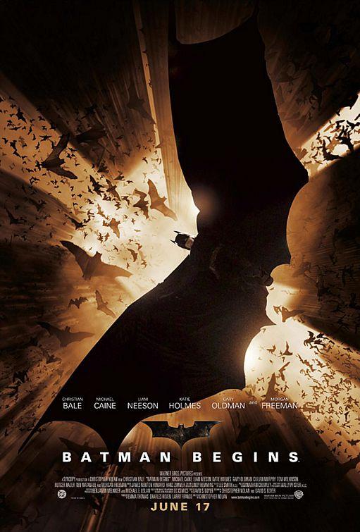 плакат фильма Бэтмен: Начало