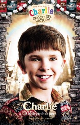 плакат фильма Чарли и шоколадная фабрика